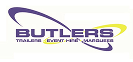 Butlers Trailers - event hire - marquees